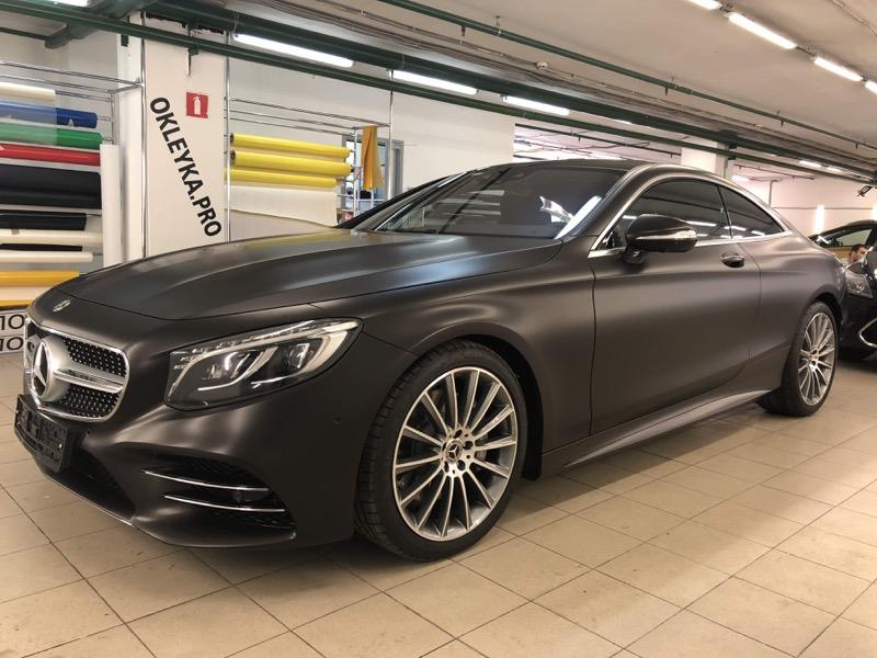 Антигравийная защита Mercedes-Benz антигравийной пленкой