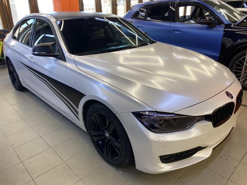 BMW 3 серии стайлинг детейлинг в Москве