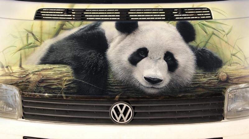 Панда медведи вырезан виниловые наклейки автомобиль грузовик окно стены ноутбук зоопарк P3372