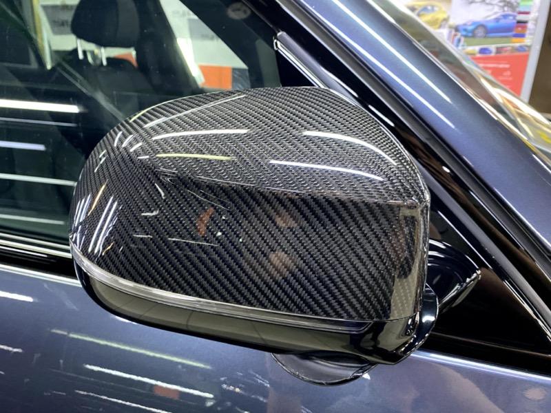 BMW X5 антигравийная защита зеркал